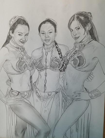 Anna Akana and friends by Mikeadams78