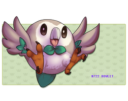 Rowlett the pudge McMuffin by Whitefeathur