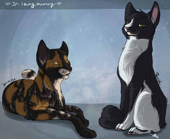 Fluffy Family by Whitefeathur