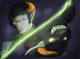 Paint Me as A Villain by Whitefeathur