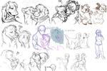 Doodledump by Whitefeathur