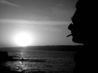Smoking Silhouette by Judith2012