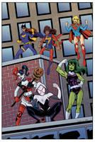 Girl Power! by NinjaSpidey