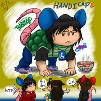 Handicap Turtle Mouse. by Celestial-Biohazard