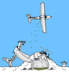'Aerial Warfare' - Colored by eightyator