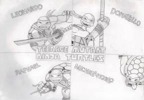 2012 Teenage Mutant Ninja Turtles Background by FlowerPhantom