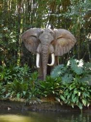 Jungle Cruise: Elephant by FlowerPhantom