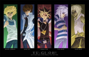 Yugioh bookmark set by hakuku