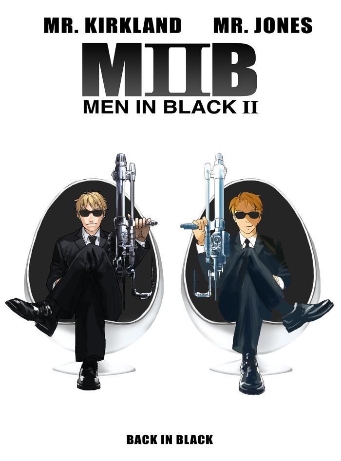 MIB crossover by hakuku