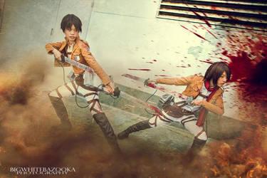 Cosplay: Shingeki no Kyojin by hakuku