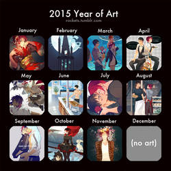 2015 Year of Art by hakuku