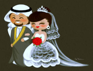 just married by saro-sah