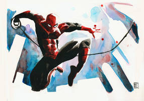 Comic Con 2012 - Spider-man by Geoffo-B