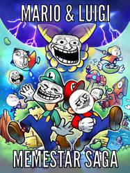 Mario and Luigi Memestar Saga (My Meme) by Chase-Da-Umbreon