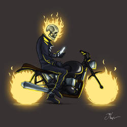 Ghost Rider by swims-at-night