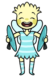 Cymbal Fairy :custom: by A-La-Moe