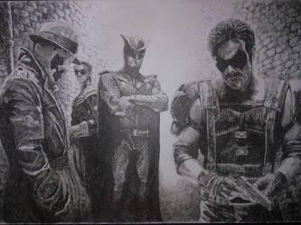 Watchmen by Bigeggs