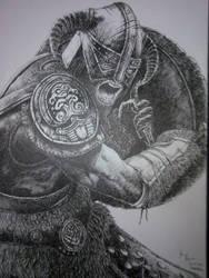 Dovahkiin by Bigeggs