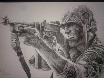 We were soldier by Bigeggs