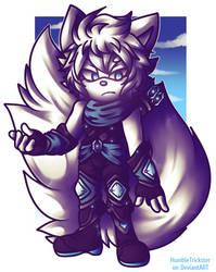 .:Shiro The Arctic Fox:. by HumbleTrickster