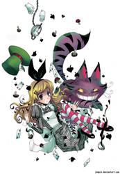 Alice in wondercaca .w. by Jumpix