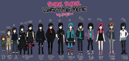 SUPERDUPERwarptimeMEME by Jumpix