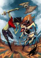 Ricarda vs Cowboy Aria by Jumpix