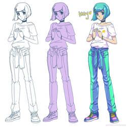 Patreon Reward: Character Design by Jumpix