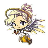 Patreon Reward: Mercy from Overwatch by Jumpix