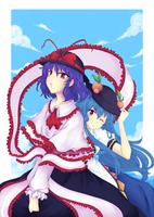 IkuxTenshi by criis-chan