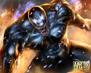 Venom's Jammin with Mangaholix by scarypet