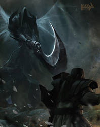 Reaper of Souls by scarypet