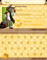 PKMN-Crossing Cortes App by TheBerserkerGJ