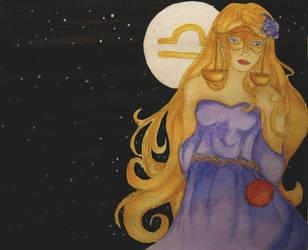 Libra Goddess by Calmality