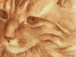 Tea Tiger by Calmality