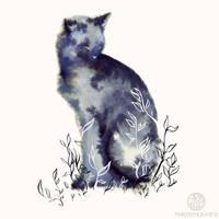 Garden Cat by Calmality