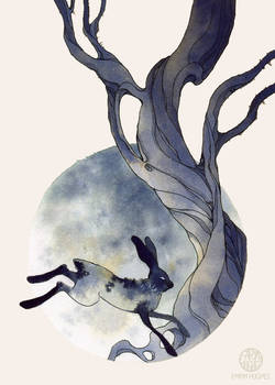 Rabbit's Moon by Calmality
