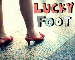 Lucky Foot by kawaiwawi