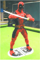 Pipe Cleaner Deadpool by fuzzymutt