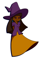 October Witch by PurpleSpaceDragon