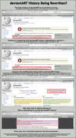 deviantART History Rewritten? by jark