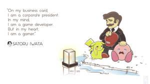 You Will Be Missed Satoru Iwata by Kopfmarke