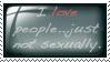 I Love...Stamp by SilverSugar