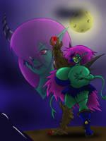 The Boobie Monstress by Zabuzabotz