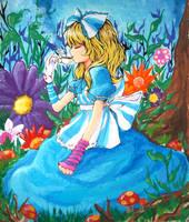Tea Time, Alice by Lezombie-kun