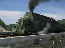 German armored train by rambooze