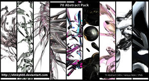 70 Abstract Pack by stinky666