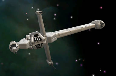 A/SF-01 B-wing starfighter by C-B-Liberty