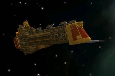 Emperor class battleship by C-B-Liberty