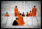 ChongSheng Monks by lukaszkruk